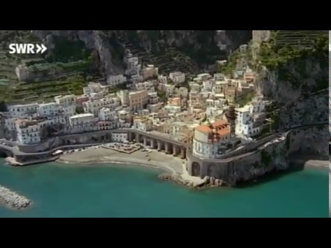 Die Küste von Amalfi (Italien)