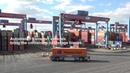 Automated container handling with low emissions at CTA