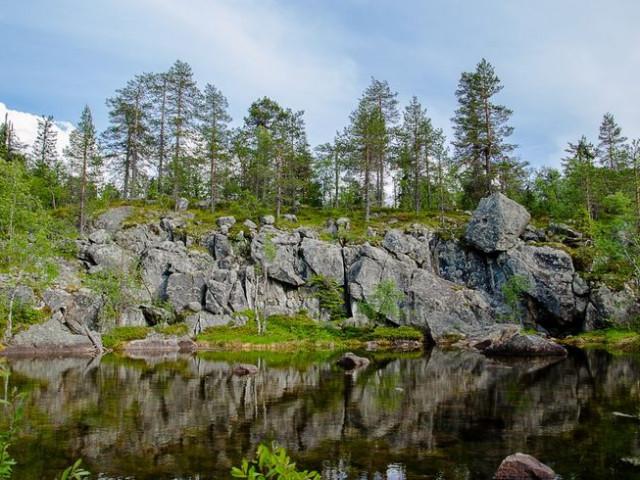 Аномальные зоны России. Гора Воттоваара в Карелии