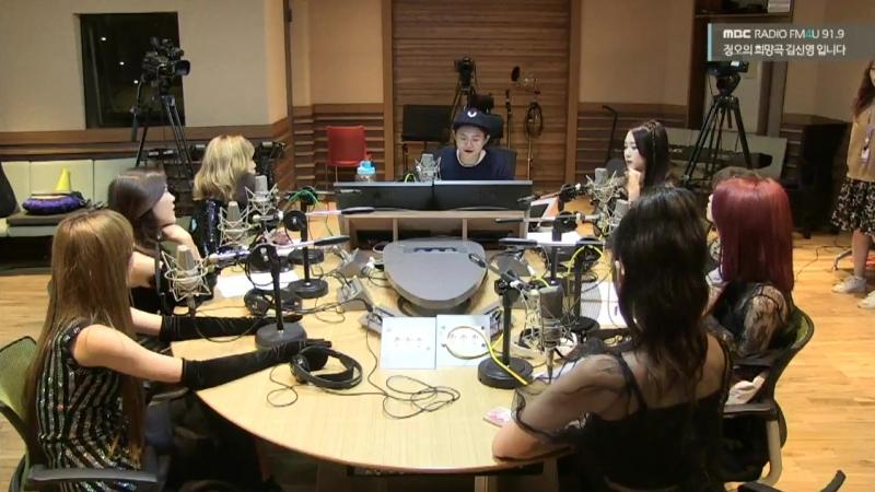 · Radio · 181004 · OH MY GIRL · MBC FM4U Kim ShinYoung's Hope Song at Noon ·