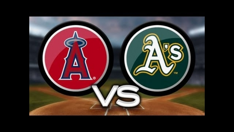 MLB 2018 Angels vs Athletics 20.09.2018