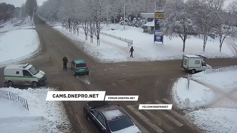 ДТП на Аношкина/Свободы - 12.01.19