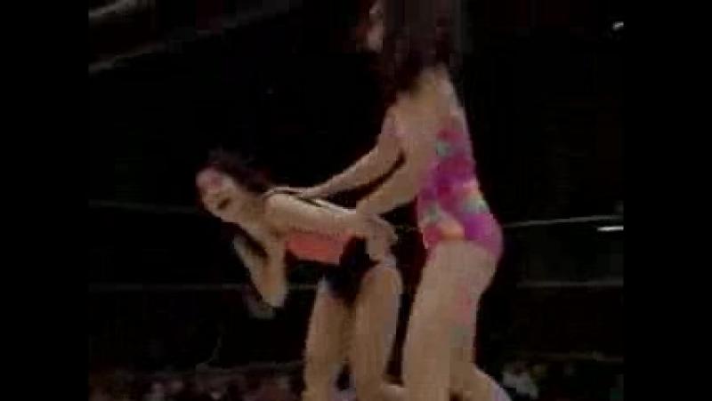 1. Chikako Shiratori vs. Rie Tamada (1.3.94)