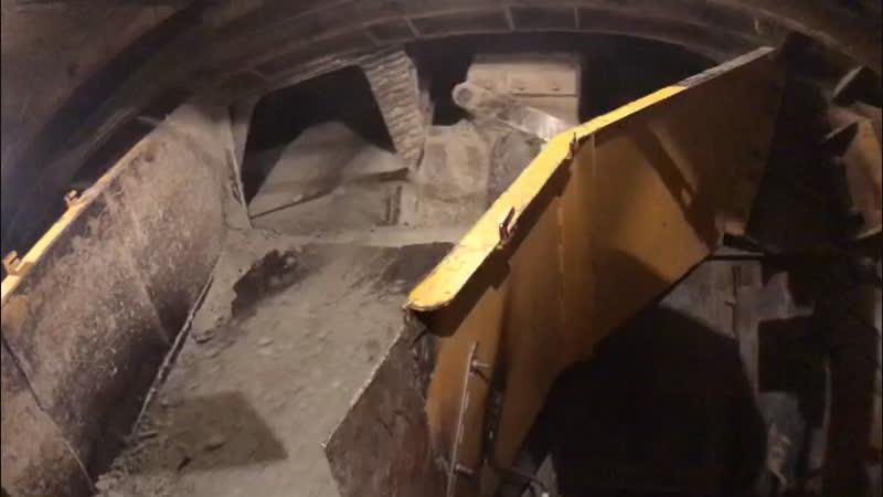 Проходка тоннеля щитом КТ-1 5,6 м.