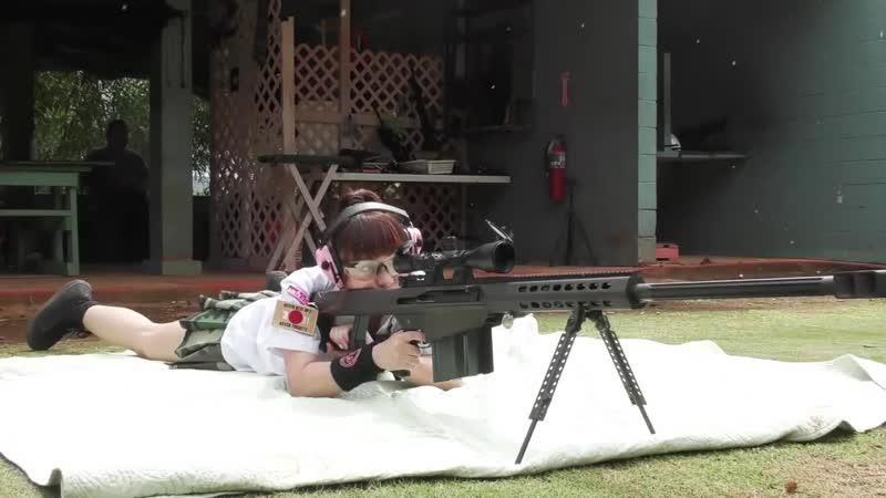Japan sniper girl VS football player Boris Rotenberg