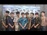 180826 #suho_video #EXO #SUHO #JunMyeon - a-nation navi Twitter update