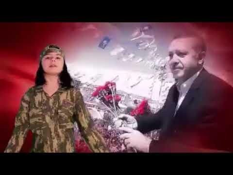 Azərbaycanlı uşaqlar Ərdoğan üçün mahnı oxudu