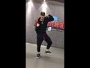 Luhan @ cao yu's luhan dance challenge