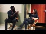 Alycia Debnam-Carey with Colman Domingo via garretdillahunt IG | FearTWD