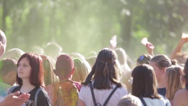 Видеозаписи Фестиваль Красок Холи в рамках Дня Защиты Детей