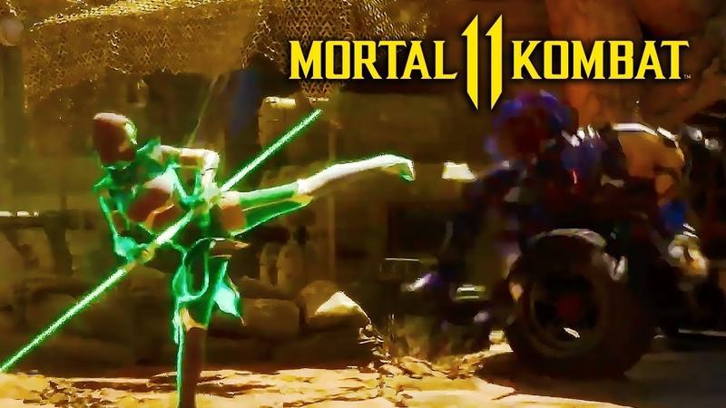 Mortal Kombat 11 Official Jade Gameplay Breakdown   Kombat Kast 2