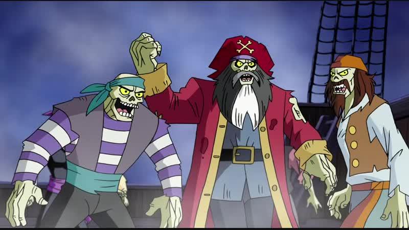Скуби ду пираты