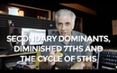 How To Use Secondary Dominants, Diminished 7ths and Cycle of 5ths