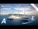 Vidéo Drone - SAIL YACHT A - Le plus grand voilier du monde à Cannes