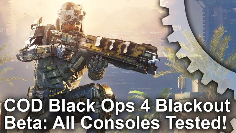 [4K] Call of Duty Black Ops 4: Blackout Mode Beta Analysis - Every Console Tested!