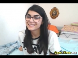 Nerdy Indian Teen Video Chattin With Friends