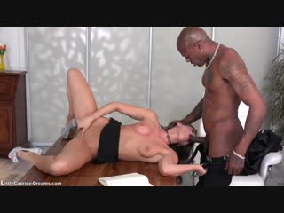 Get fucked first time from a big black