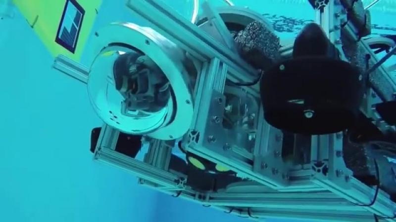 Dory, Caltech's prizewinning robot submarine RoboSub