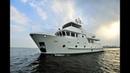 Bering 65 Serge Steel expedition trawler yacht underway