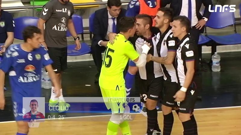 Viña Albali Valdepeñas - Levante UD FS. Jornada 1