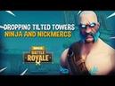 Dropping Tilted Towers!! Ninja & Nickmercs - Fortnite Battle Royale Gameplay