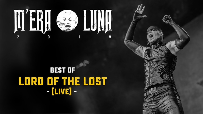 Lord Of The Lost   Live at M'era Luna 2018 [Highlights]