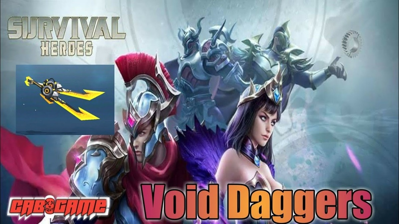 Survival Heroes - Void Daggers Gameplay (Solo)(Android)