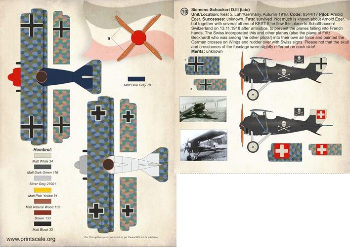 Siemens-Schuckert D.III D.IV 1/72 (ВЭ)  BgeGxPcUx_4