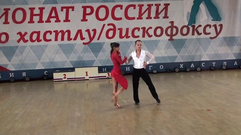 8.12.2018 ЧР Absolute Slow 2 место №325 Максим Истомин - Регина Цокур