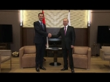 Путин и Асад заявили о победе над террористами во всех ключевых точках Сирии