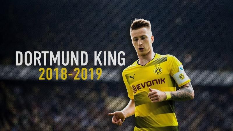 Marco Reus - Dortmund King   All 11 Goals 5 Assists 2018/19   HD