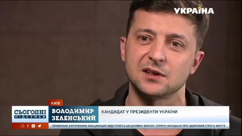 Ексклюзивное интервью Владимира Зеленского