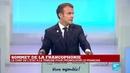 REPLAY Discours d'Emmanuel Macron au sommet de la Francophonie