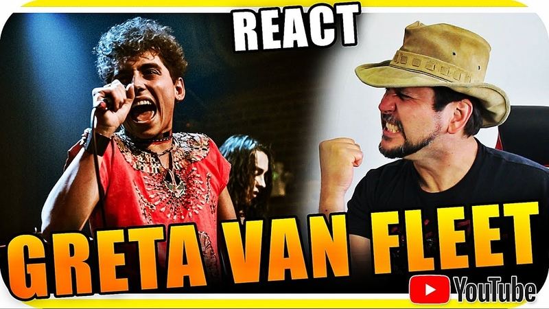 GRETA VAN FLEET - Marcio Guerra Reagindo React Reação Hard Rock