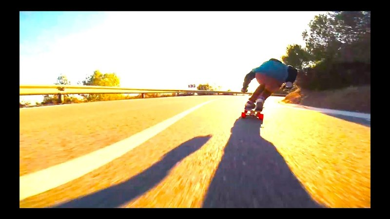 Amazing raw run by Adrià Arquimbau Codina |downhill longboarding|