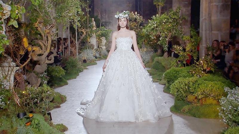 Reem Acra Barcelona Bridal Fashion Week 2018 Exclusive