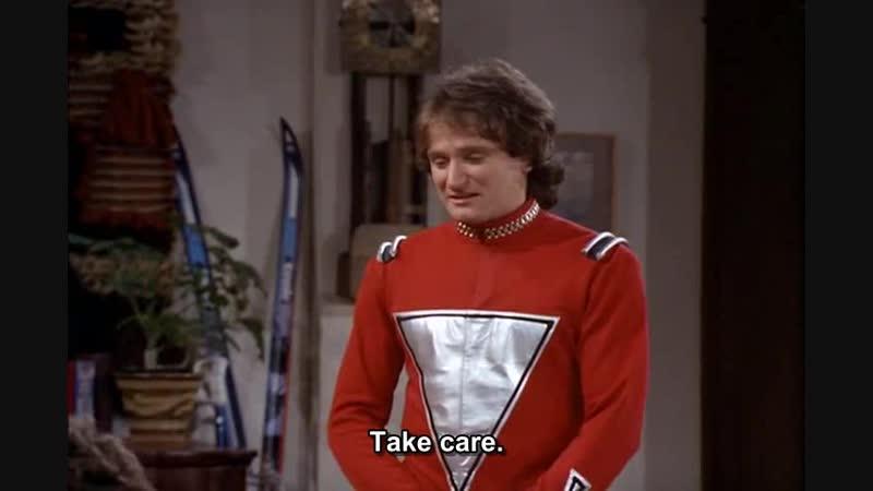 Mork and Mindy (Season 1 Episode 24) - It's a Wonderful Mork original sub eng