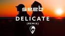 Taylor Swift - Delicate (Seeb Remix) [Lyric Video]
