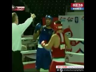 🎬Энтони Джошуа vs. Михай Нистор. Чемпионат мира в Турции 2011 год🥊