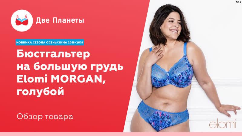 Бюстгальтер Elomi Morgan синий размер чашки до 80K 100G