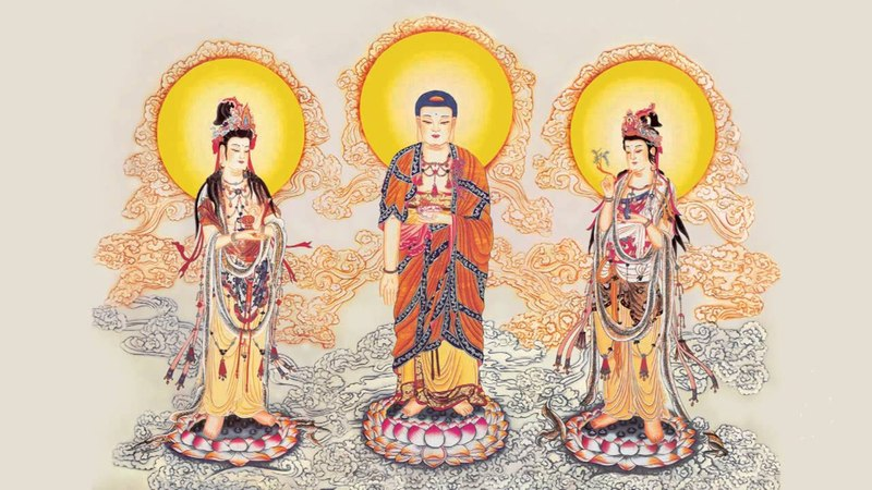 南無阿彌陀佛聖號 六字四音 歸鄉佛號 12小時剪輯特長版 高清 Namo Amitabha Chanting