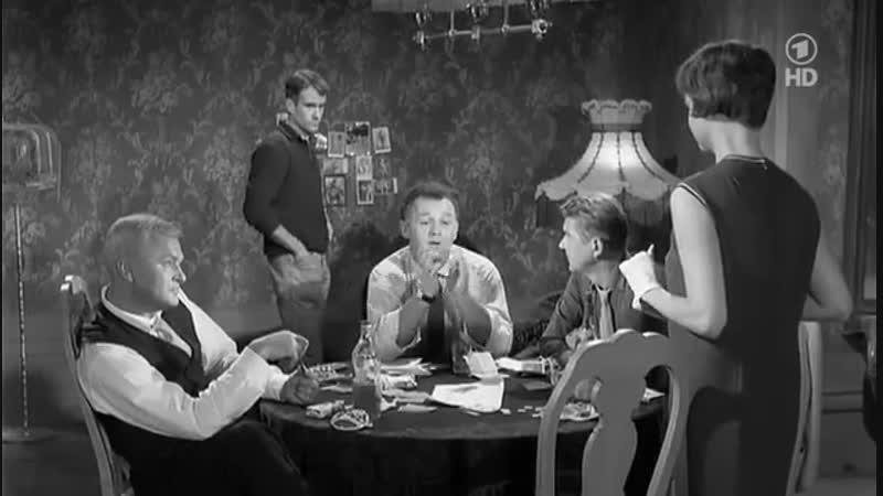 В пятницу в половине двенадцатого ( 1961 ) Весь мир в кармане (Криминальная драма )