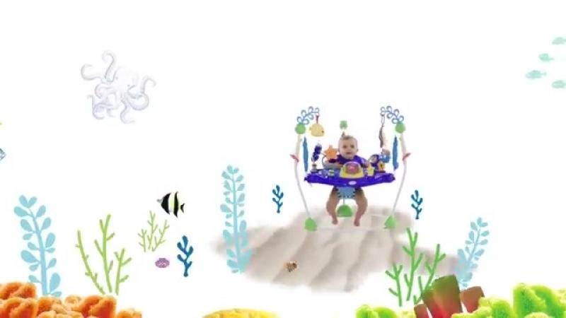 Прыгунки Открытый океан Baby Einstein