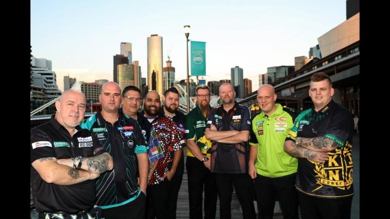 2018 Melbourne Darts Masters Round 1 van Barneveld vs O'Donnell