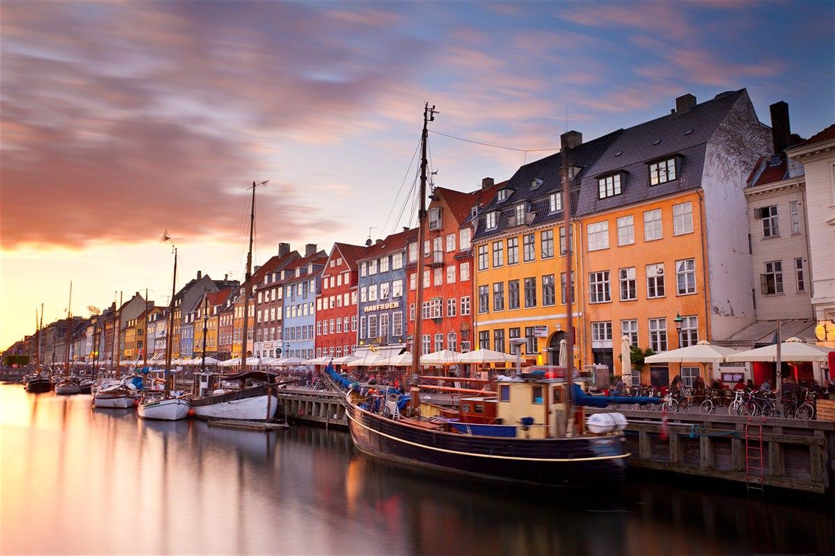 Вид на Копенгаген с реки