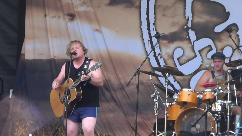 Steve 'n' Seagulls Self Esteem live at Brutal Assault 2018 Jaroměř Czech Republic 08 08 18