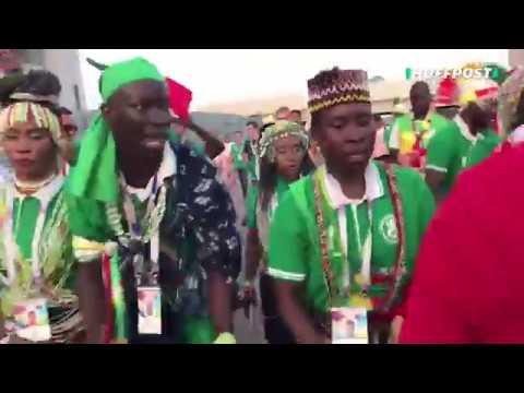 Así celebra la afición de Senegal su victoria contra Polonia en Rusia 2018