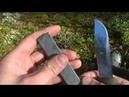 Как я точу нож Mora 2000. Камень Опинель