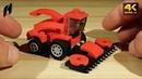 Как построить маленький комбайн LEGO