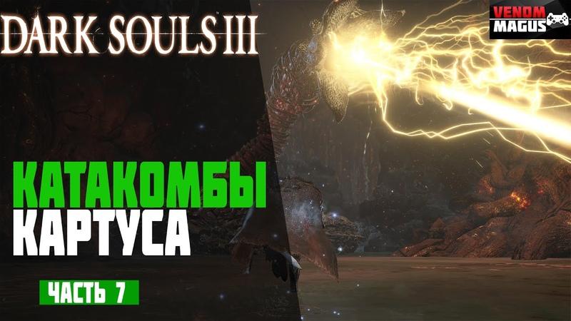 Dark Souls 3 ► 7 - Тлеющее Озеро и Катакомбы Картуса ▐